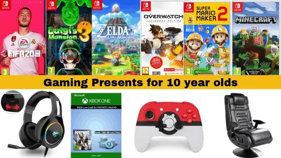 Gaming Presents for 10 year olds