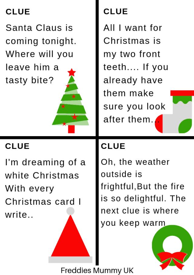 Scavenger Hunt Clues - Printables