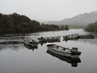 Barques entre Macroom et Gougane Barra