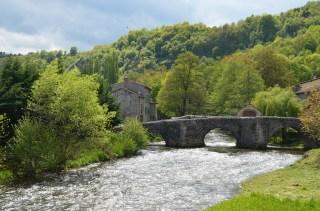 Vieux pont, Saurier, Auvergne