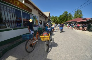 Nos vélos - Ile de la Digue