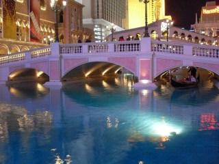 Les gondoles...à Las Vegas