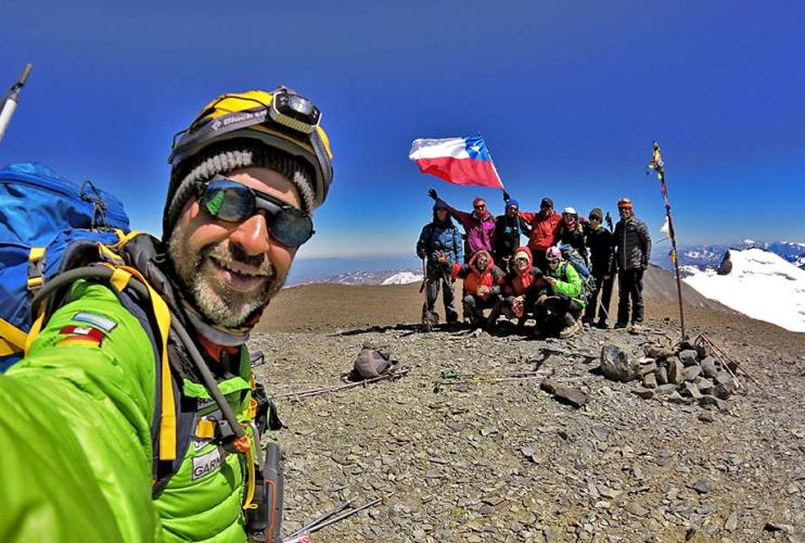 Plomo 5450m – Iniciação em Alta Montanha (Chile)