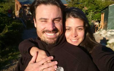Carol Brazão e Cristian Cruz