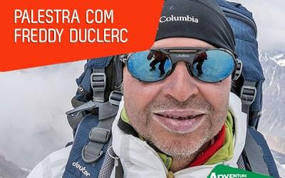 Palestras de Freddy Duclerc na Adventure Sport Fair 2018 – Experiência a disposição de aventureiros!