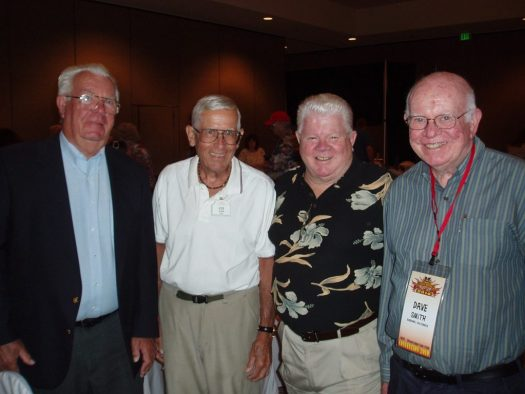 Wayne Jackson, Bob Gurr, Tom Nabbe, Dave Smith at Disneyana Convention, June 2010