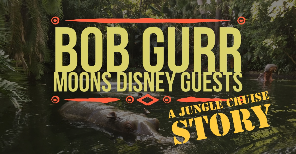 bob gurr's story of building a machine to move hippos back and forth on jungle cruise doesn't turn out as he planned.