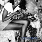 Naomi Campbell Nude Artistic Photo Shoot, But Was She Really Doing PlayBoy