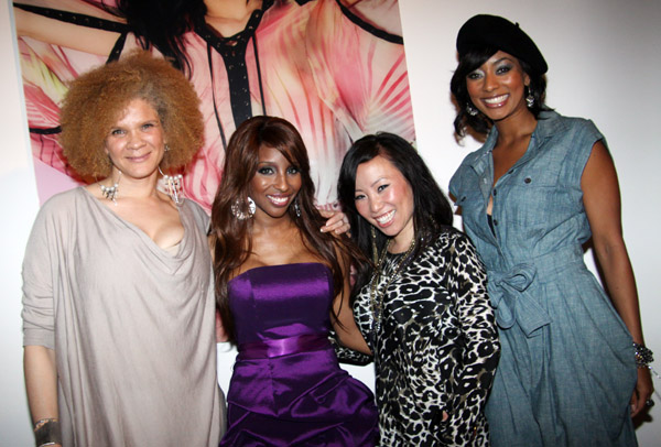 MICHAELA ANGELA DAVIS, NECOLE BITCHIE, MISS INFO, AND KERI HILSON