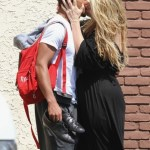 Romeo And Kirstie Alley Kissing After DWTS Rehearsals