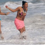 Christina Milian Shows Off Her Body In Malibu