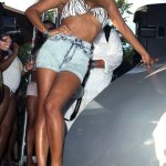 Christina Milian Celebrates Labor Day At The Palms
