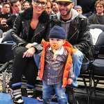 Lil Wayne, Kanye West, Alicia Keys, & Swizz Beatz Spotted Courtside