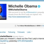 First Lady Michelle Obama Joins Twitter