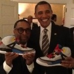 Spike Lee Presented President Barack Obama With Jordan Spiz'ike
