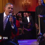 President Obama Sings 'Sweet Home Chicago' with B.B. King &  Mick Jagger
