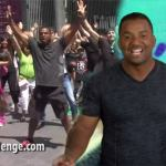 """Fresh Prince"" Star  Alfonso Ribeiro Trys To Set Flash Mob World Record"