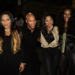 Trina Braxton attends SWV Album Release Party Hosted by DBlanks