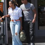 Hip Hop Royalty Hook Up: Angela Simmons & Romeo Miller Go On A Lunch Date