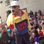 Chris Brown Performs On The Today Show Summer Concert Series