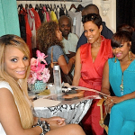 Toya & Tamar Takes Over Garb Boutique Durning The 2012 Essence Festival