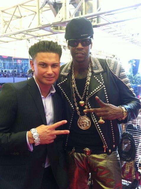 Drake Wearing Versace