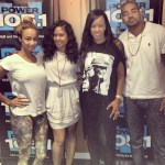 Draya And Malaysia Hold Nothing Back on Power 105 in NYC!!!