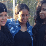 Photos: Toya Wright Takes Daughter Reginae For Camping Trip