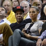 Photos: Jay-Z & Beyonce At The Miami Heat vs Atlanta Hawks Game