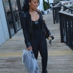 Exclusive Photos: Love & Hip Hop Atlanta's K. Michelle Out And About In Atlanta