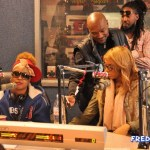 Exclusive Photos: Tamar Braxton & Da Brat Interview On Atlanta's V103 With Ryan Cameron