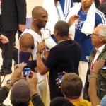 Photos: Jay-Z & Denzel Washington At The Lakers Game