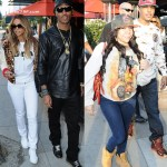 Video: Couples TI, Tiny, Future & Ciara Have Lunch In LA Together