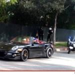 Chris Brown Speeds Through Beverly Hills