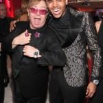 Photos: Elton John & Vanity Fair Oscar After Parties With Chris Brown, Nicki Minaj, Kim Kardashian & More
