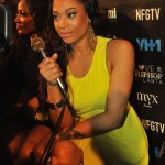 Photos: Mimi Faust made the Fashion Bomb Daily Rocking Just Cavalli & Gucci Victoire Sandals