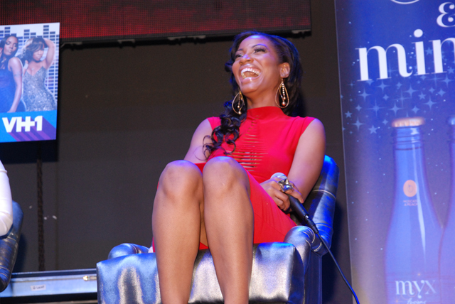 Erica on stage