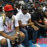 PHOTOS: R. Kelly, Devyne Stephens, Akon, and Trina Braxton Spotted at Atlanta Dream vs. Indiana Fever