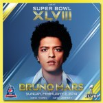 Bruno Mars Books SuperBowl Halftime Show