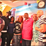 Vince Herbert and Tamar Braxton Stop by the Rickey Smiley Morning Show in Atlanta