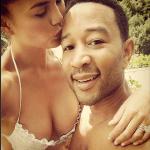John Legend And Chrissy Teigen Share Wedding Day Photos With ELLE Magazine