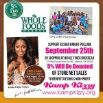 Keisha Knight Pulliam and Kamp Kizzy Takes Over Whole Foods Buckhead