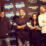 Kanye West & Charlamagne the God Turn Up At Breakfast Club Interview