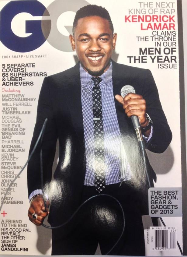 Kendrick Lamar GQ Cover