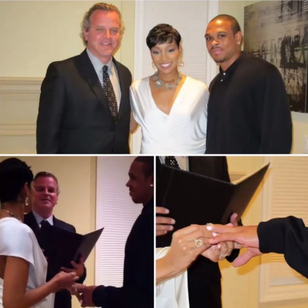 Monica Shares Video Of First Wedding Ceremony With Shannon ...