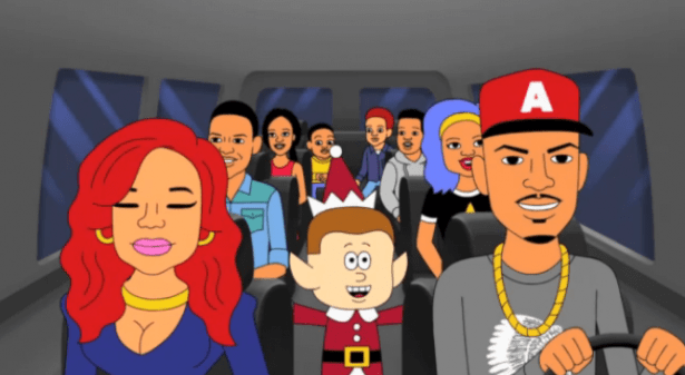 video ti family hustle animated holiday special