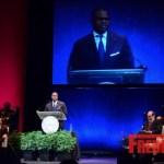 Kasim Reed Atlanta Mayor Inaugural Photo's Sworn in for 2nd Term : Monica SIngs
