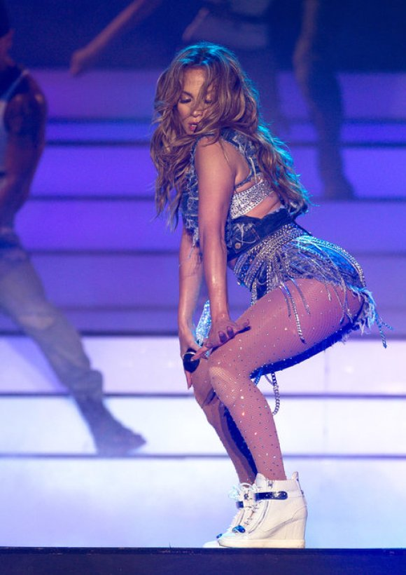 Jennifer Lopez Performs At Meydan, Dubai