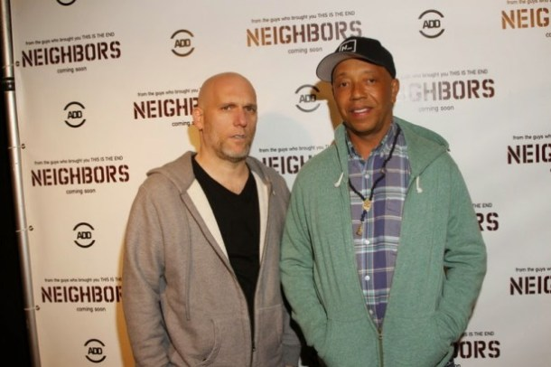 Steve Rifkind and Russell Simmons