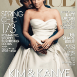 Kanye West and Kim Kardashian Covers VOGUE!